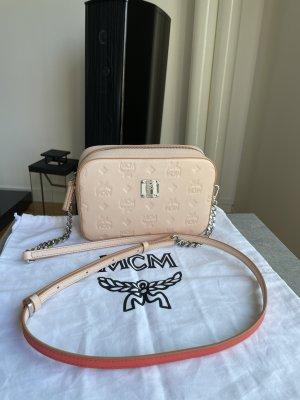 Klara Monogrammed Camera Bag Bisque/ Klara Crossbody Pouch in Monogram Leather
