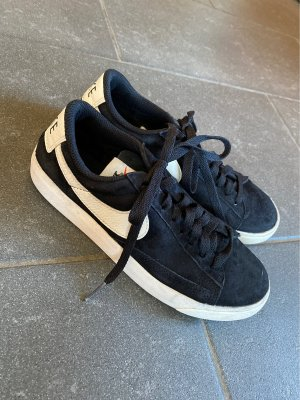 Nike Zapatos brogue negro-blanco