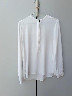 Klassiker Bluse mit Reißverschluss