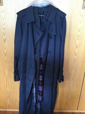 Klassiker! Burberry Trenchcoat mit Wollfutter 44 xxl dunkelblau