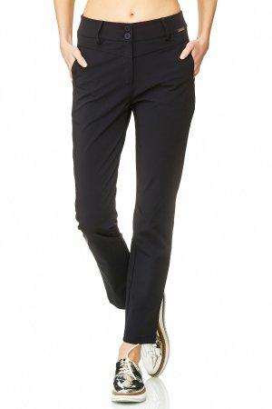 Ancora Pantalon chinos noir polyamide