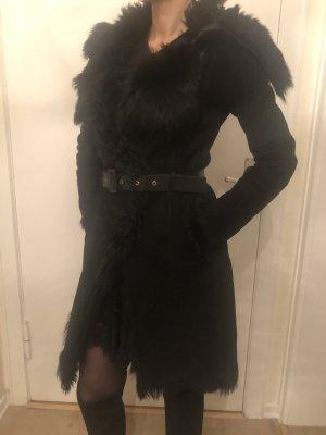 Patrizia Pepe Pelt Coat black