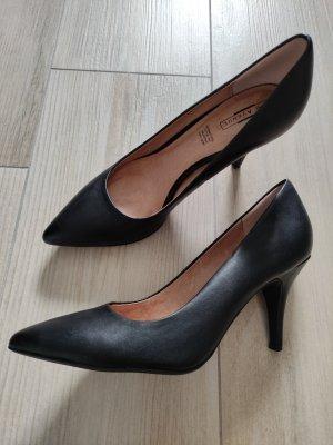 5th Avenue Zapato Tacón negro Cuero
