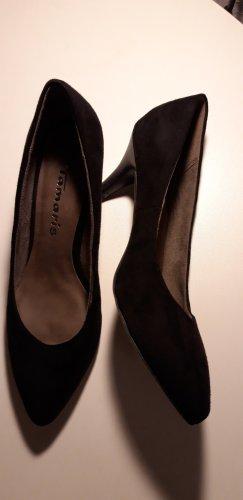 Tamaris Spitse pumps zwart