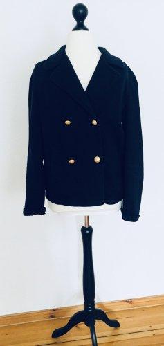 Klassiker: Tolle Cabanjacke mit Goldknöpfen, KEIN Polyester! Jacke, Sweatshirt-Jacke