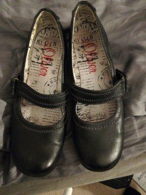 S.Oliver Premium Zapatos Mary Jane negro