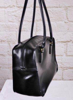 Klassisch Handtasche Minikoffer Schwarz Esprit Henkeltasche Business Bag Weekender
