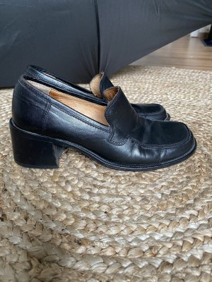 Made in Italy Wingtip Shoes black