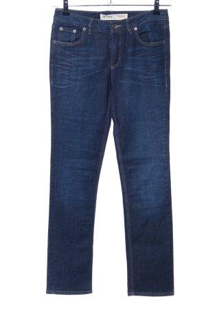 Klassische 5-Pocket Slim Jeans von Hess Natur