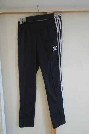 Adidas Sportbroek zwart-wit Polyester