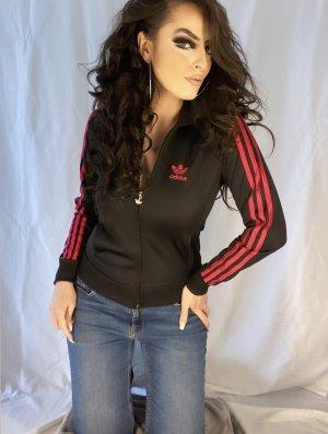 Adidas Sweat Jacket black-pink