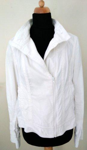 Castro Biker Jacket white-natural white cotton