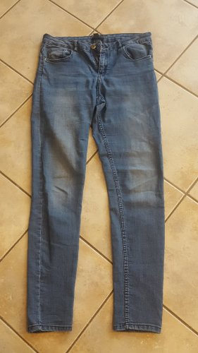H&M Stretch jeans blauw