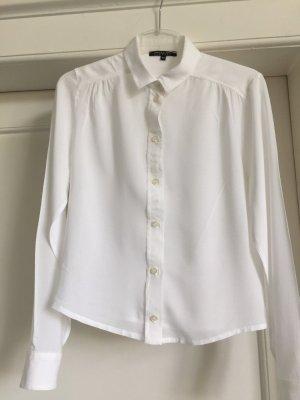 Patrizia Pepe Blusa de seda blanco Seda