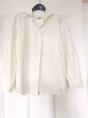 Klassische Bluse weiß AIGNER  - Gr. 42