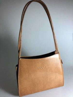 Klassische Gucci Leder Handtasche