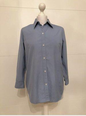 Klassische hellblaue Bluse von Ralph Lauren in gr. M wie Neu