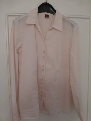 Klassische Hemdbluse in Rosé