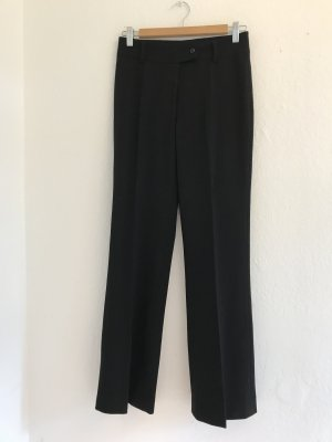 Piazza Sempione High Waist Trousers black wool