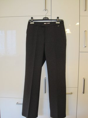s.Oliver Marlene Trousers dark grey-anthracite polyester