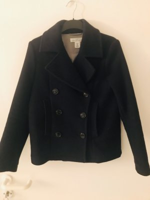 H&M Granatowa kurtka ciemnoniebieski-jasnoszary