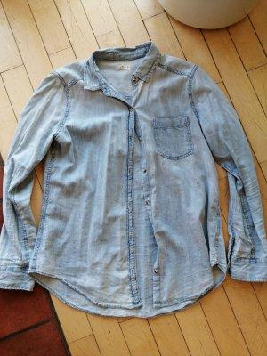 Hollister Blouse en jean bleu azur