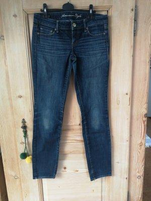 American Eagle Outfitters Jeansy o obcisłym kroju niebieski-ciemnoniebieski