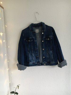 Betty & Co Jeansowa kurtka niebieski