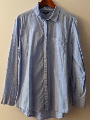 mbyM Lange blouse azuur Katoen