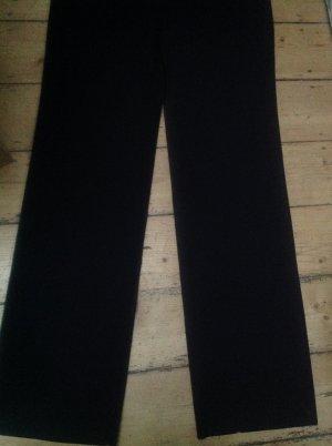 Armani Collezioni Stoffen broek zwart Scheerwol