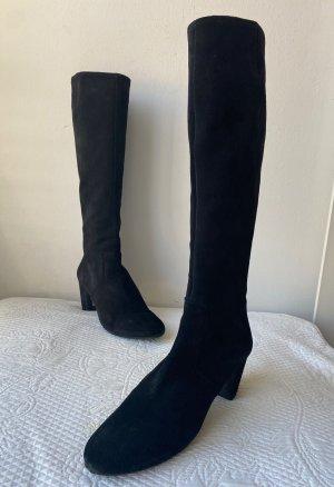 Roberto de Carlo Heel Boots black leather