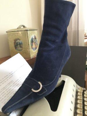 Klassische Stiefeletten Sergio Rossi 38,5 - nachtblau