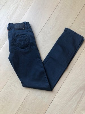 Jaggy Five-Pocket Trousers dark blue