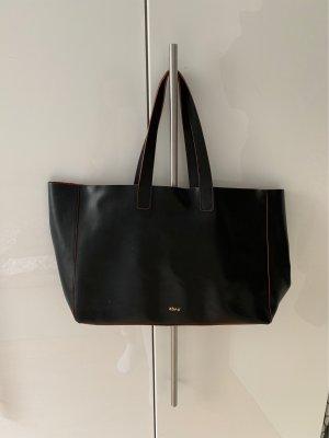 abro Handbag black-dark red