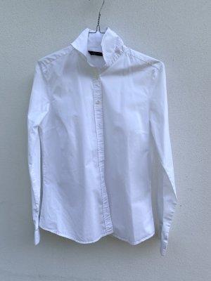 Klassische weiße Bluse / Hemd
