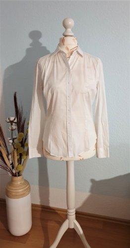 klassische, weiße Bluse von Zara