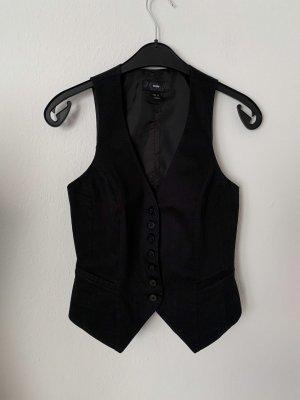 H&M Biker Vest black cotton
