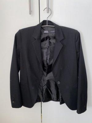 Zara Blazer in jersey nero