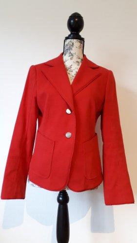 Betty Barclay Klassischer Blazer argenté-rouge