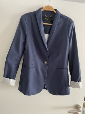 Reserved Korte blazer donkerblauw