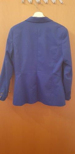 H&M Klassischer Blazer blauw