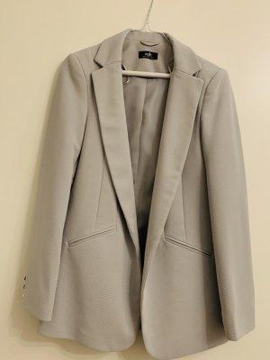 Klassischer Blazer in Grau
