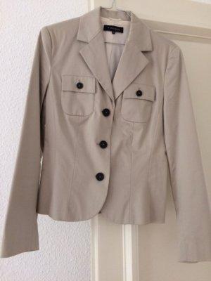 "Klassischer Blazer Jacke beige ""Mark Adam"" Gr. 36"