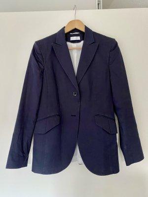 Klassischer Blazer von St. Emile in Navy blau