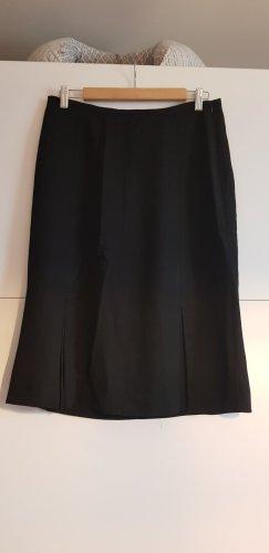 Mango Spódnica midi czarny