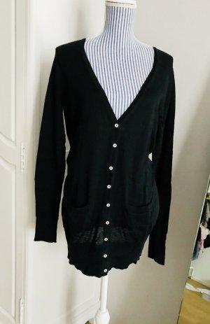 Klassischer Cardigan aus Seide & Baumwolle