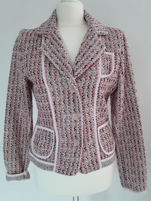 Klassischer femininer Tweed Blazer, neu