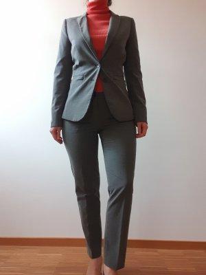 Stile Benetton Tailleur-pantalon gris-gris foncé