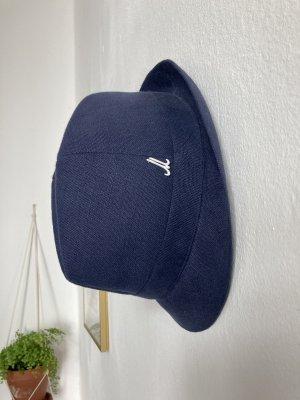 Mühlbauer Sombrero de Panamá azul-azul acero