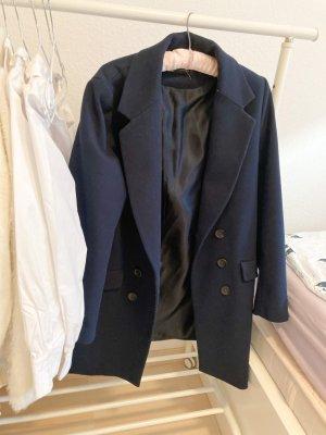 Zara Oversized jas donkerblauw